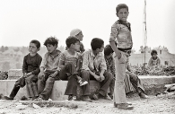 Palestinian Kids, Deir Samit, West Bank 1981