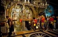 Calvary, Church of the Holy Sepulchre, Jerusalem, Israel 2008