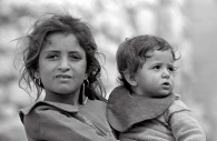 Brother & Sister,Deir Samit, West Bank 1981