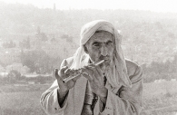 The Flautist, Jerusalem, Israel 1975